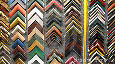 Framing picture frames for paintings