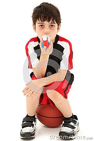Framkallad astmaövning