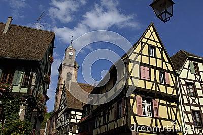 France, Alsace, Riquewihr