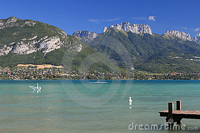 France - Annecy Lake