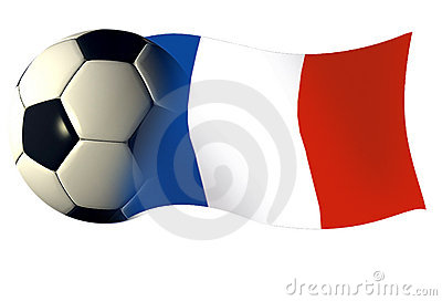 France ball flag