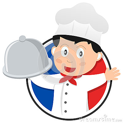French Cuisine Chef Logo
