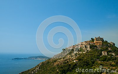 France. Cote Azur. French Riviera. Eze.