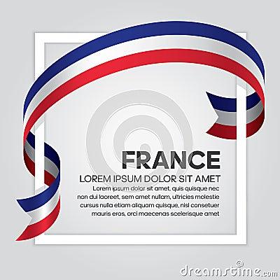 Free France Flag Background Royalty Free Stock Photos - 120664608