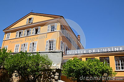 France, french riviera, Grasse, Fragonard perfumery Editorial Photography