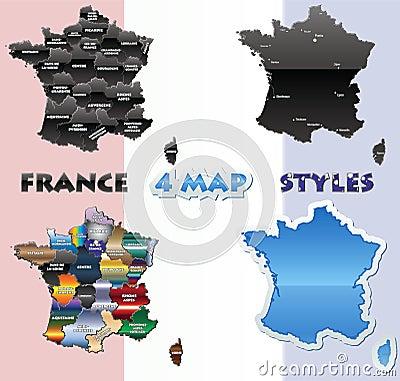 France map set
