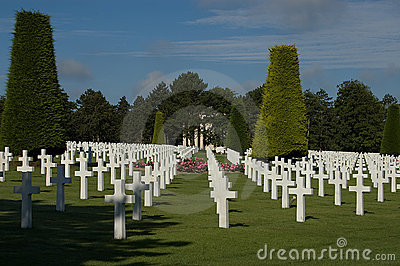 France, Normandy American war cemetery