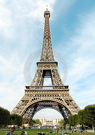 Free France. Paris. Eiffel Tower Royalty Free Stock Photos - 1374528
