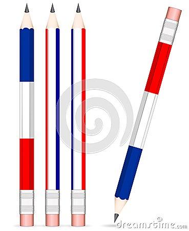 France pencil