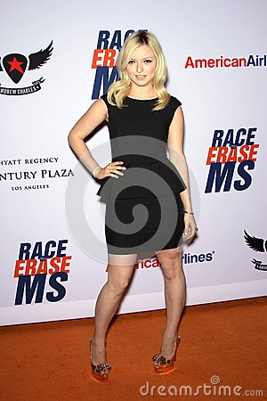 Francesca Fisher-Eastwood at the 19th Annual Race To Erase MS, Century Plaza, Century City, CA 05-19-12 Editorial Stock Photo