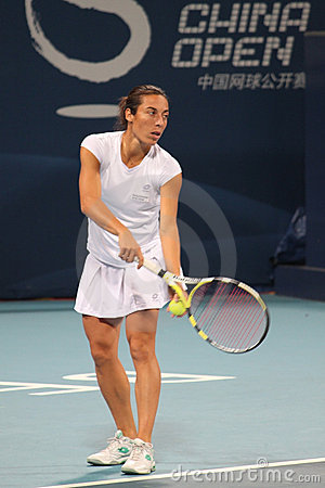 Francesca Schiavone (ITA), tennis player Editorial Stock Image