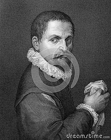 Francesco de Rossi (IL Salviati) Redactionele Stock Afbeelding
