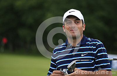 Francesco Molinari at the French Open 2012 Editorial Image