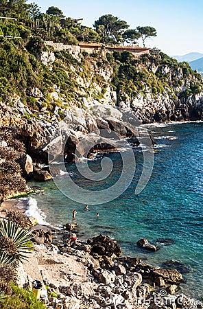 Francesi beach, mongerbino, Sicily