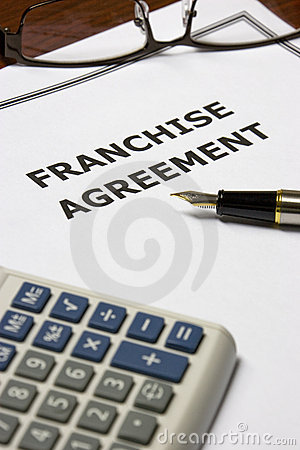 Free Franchise Agreement Royalty Free Stock Photos - 10205798