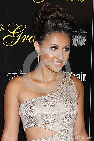 Francia Raisa arrives at the 37th Annual Gracie Awards Gala Editorial Image