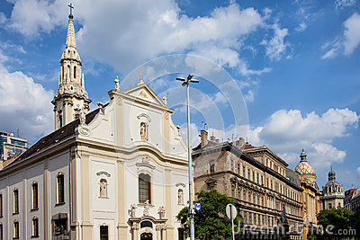 Franciscan Church of Pest in Budapest