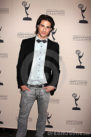 Francisco San Martin arriving at the Academy of Television Arts and Sciences Daytime Emmy Nominee Reception Editorial Stock Photo