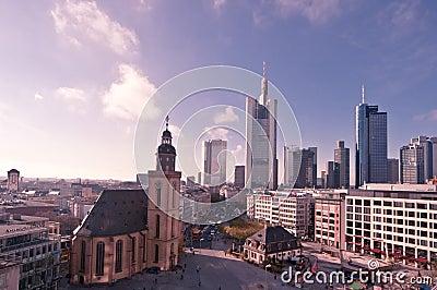 Francoforte Imagem Editorial