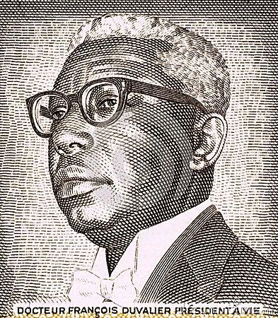 Francois Duvalier Editorial Photo
