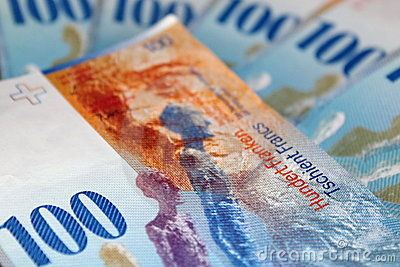 Francs hundra en schweizare