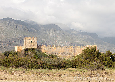 Frangokastello fort on Crete