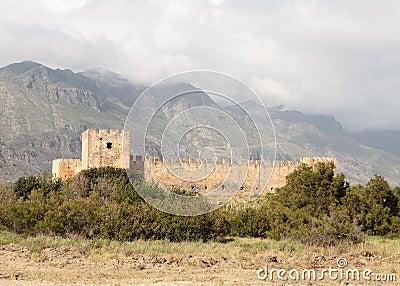 Frangokastello fort on Crete