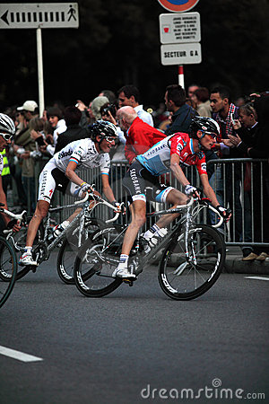 Frank&Andy Schleck Editorial Photo