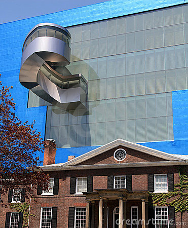 Frank Gehry s addition to Art Gallery of Ontario Editorial Photo