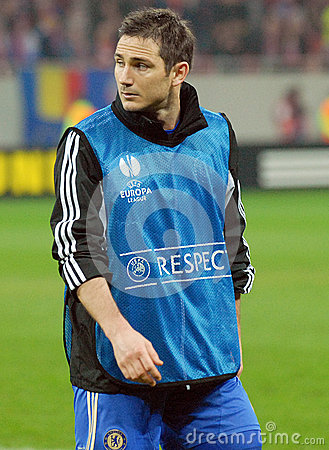 Frank Lampard of Chelsea London Editorial Stock Image