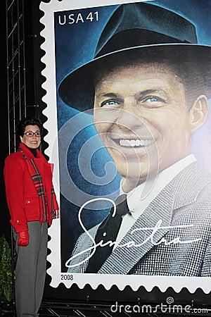 Frank Sinatra, Tina Sinatra Editorial Stock Photo