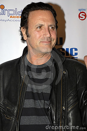 Frank Stallone on the red carpet Editorial Stock Photo