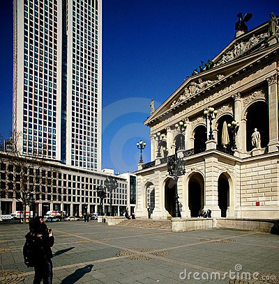 Frankfurt  Editorial Stock Image