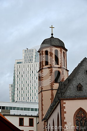 Frankfurt Germany Old and New
