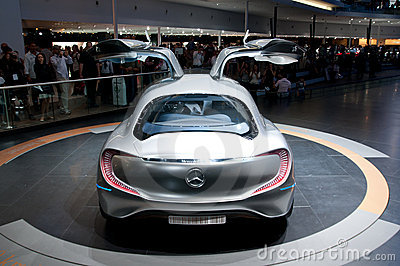FRANKFURT, GERMANY - SEP 25: Mercedes Benz F125 Editorial Photography