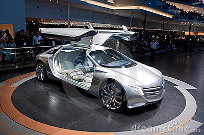 FRANKFURT, GERMANY - SEP 25: Mercedes Benz F125 Editorial Stock Image