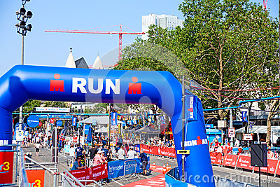 Frankfurt Ironman 2013 Championship 2013 Editorial Stock Photo