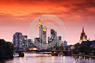 Frankfurt linia horyzontu