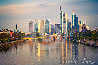 Frankfurt at morning