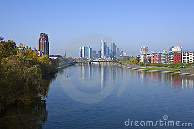 Frankfurt in the morning