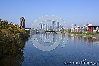 Frankfurt in the morning
