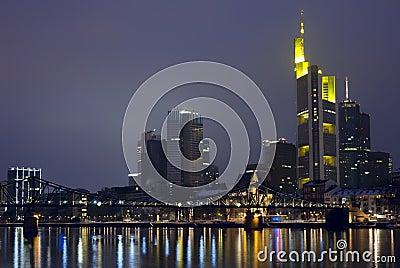 Frankfurt Skyine, Germany