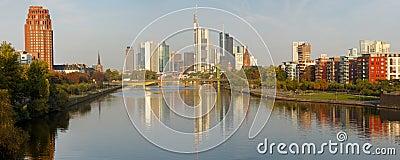Frankfurt Skyline XXL Panorama