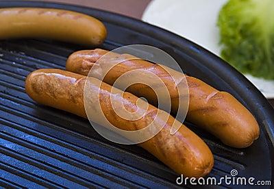 Frankfurter sausage