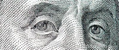 макрос franklin доллара счета 100 Бенжамин