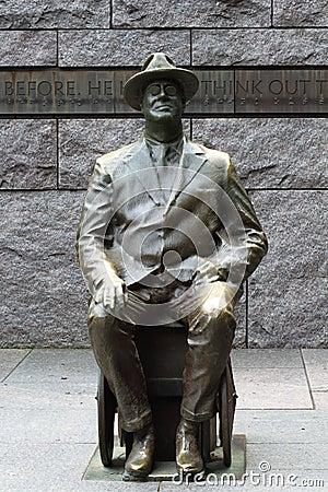 Franklin Delano Roosevelt FDR Memorial