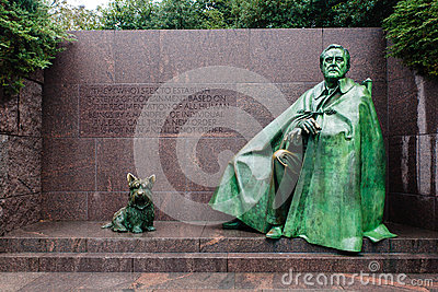 Franklin Delano Roosevelt Memorial in Washington
