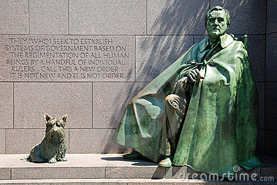 Franklin- Delano Rooseveltdenkmal in Washington D