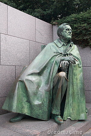 Free Franklin Roosevelt Statue Royalty Free Stock Photo - 6780335