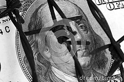 Franklin y alambre de púas